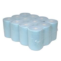 Euro p50105 handdoekrol blauw verlijmd 12 rol - Tapijt voor toiletpapier ...