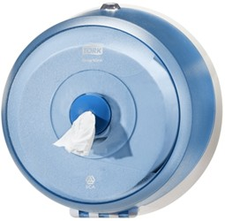 Tork smartone mini toilet roll dispenser blauw 472025 - Tapijt voor toiletpapier ...