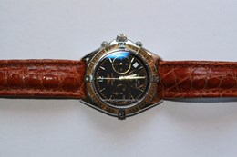 Breitling Chronomat 80350 staal/ geelgoud Compleet. Vintage/ 2e hands
