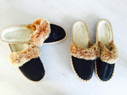 Dames BOHO slipper 39 HIPPIE SJIEK