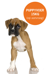 Dogfood4you Puppyvoer (15kg)