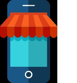 Webwinkel updaten via mobiele app