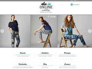 Webwinkel She is Online