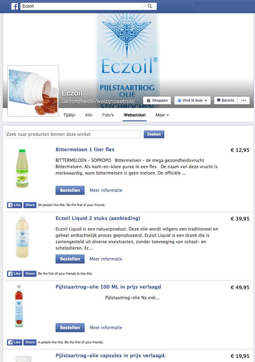 Start je eigen Facebook winkel - Starteenwinkel.nl