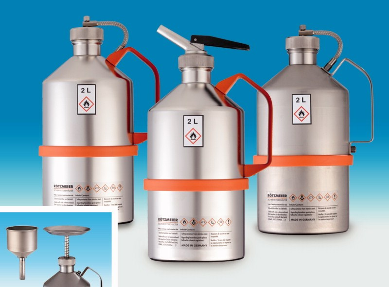 Accessories for safety laboratory cans, replacement screw cap, with  pressure relief valve