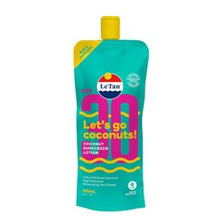 LeTan SPF30 Coconut Sunscreen Lotion 110mL