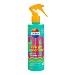 Le Tan SPF30 Coconut Sunscreen Spray 250mL