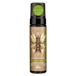 Uber Glow Selftanning Oil Foam Green Base 200mL