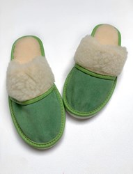 AA WOOLLIE slipper Pistache Green