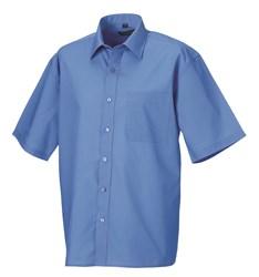 Overhemd Korte Mouw Heren.Russell Heren Overhemd 8 Trendy Kleuren S T M 4xl Basickleding Com