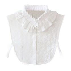wit bloesje met kraag