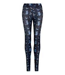 Legging Abstract Blue