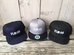 FLM GO Embroidered Denim Cap