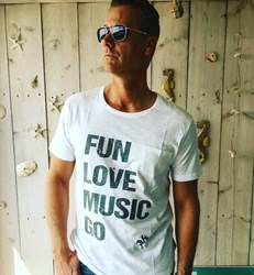 FLM GO Men T-Shirt | Fun Love Music Go
