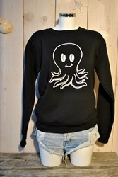 OCT PS Octopus Black- White sweater