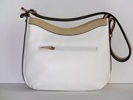 7db967d7dd8 Laurent David handtas wit Poissy. Elegante tas van kleur wit met ...