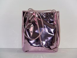 Boo silver/rose metallic tas
