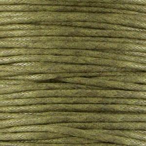 Army Green - Waxkoord | Webshop Danielle Forrer