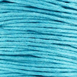 Dark Aquamarine Blue - Waxkoord | Webshop Danielle Forrer