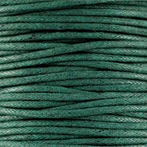 Dark Emerald Green - Waxkoord | Webshop Danielle Forrer