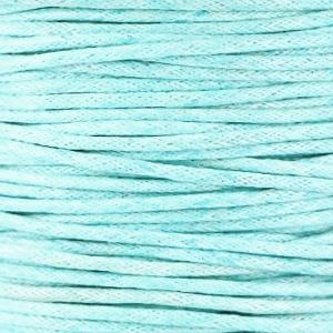 Light-Aquamarine Blue - Waxkoord | Webshop Danielle Forrer