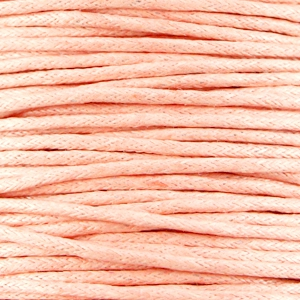 Perzik - Soft-Peach - Waxkoord | Webshop Danielle Forrer