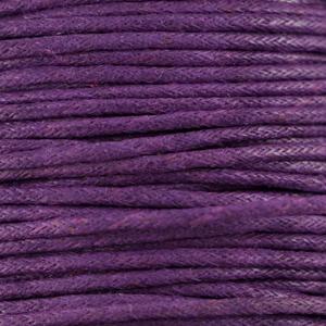 Paars - Purple - Waxkoord | Webshop Danielle Forrer