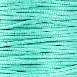 Turquoise-Mint - Waxkoord | Webshop Danielle Forrer