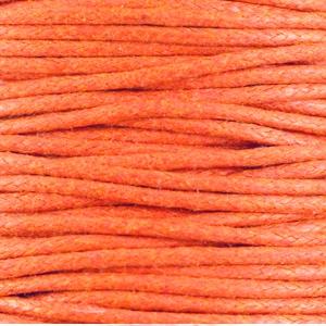 Warm-Orange - Waxkoord | Webshop Danielle Forrer