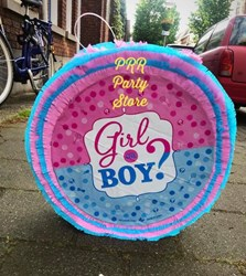 Gender Reveal Piñata + GRATIS stok