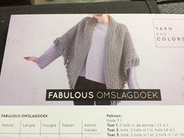 Fabulous Omslagdoek