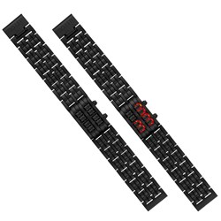 Neo Too Late LED watch (Black)