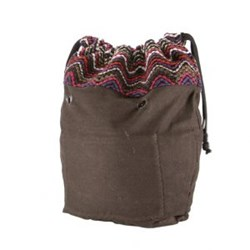 O bag mini sacca interna - COULISSE FOLK LINES (Aubergine)