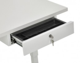 Bureau tafels for Ladenblok met slot