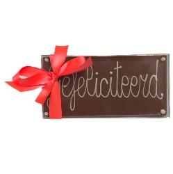 chocoladereep gefeliciteerd