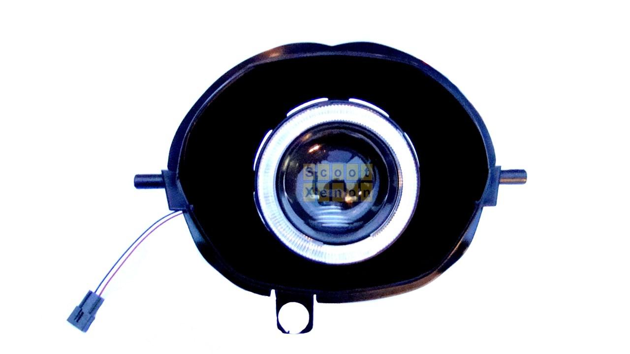 Fonkelnieuw Koplamp Angel Devil Eye Piaggio Zip compleet € 105,- de Goedkoopste! VQ-11