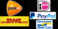 verzenden en betalen logo
