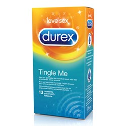 12 Durex Tingle me - mint condooms