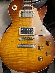 Gibson Les Paul Standard 1959 Jimmy Page #1 Tom Murphy Aged 1 Owner with Signed COA & Case