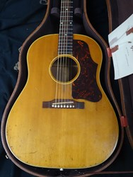 1957 Gibson J50 with Original Case & Pricelist Such Sweet Tone & Mojo J-50