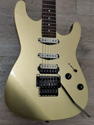 Haar S Model Gold HSS with Floyd Rose Suhr Anderson Style