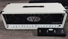EVH 5150 III 100 Watts Head Ivory Eddie Van Halen Excellent with Footswitch