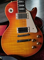 Gibson Les Paul Standard 1959 Jimmy Page #1 Custom Authentic Custom Shop with COA & Original Case