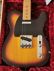 Fender Telecaster 1952 Relic Sunburst with COA & Tweedcase