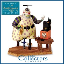 Nightmare Before Christmas Clown With A Tear Away Face.Clown With The Tearaway Face Figurine Nightmare Before Christmas Wdcc