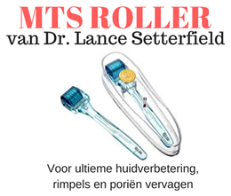 MTS roller MR3 (0.3 mm) voor optimale huidverbetering